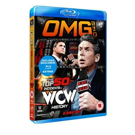 WWE: Omg! Volume 2 - The Top 50 Incidents In WCW History (UK Import) [BluRay, gebraucht, PEGI-UK]