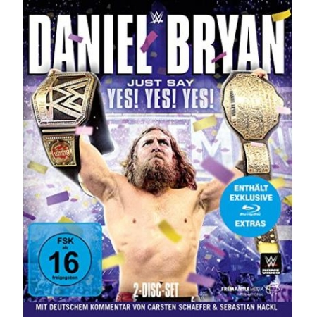Daniel Bryan - Just Say Yes! Yes! Yes! [BluRay, gebraucht, DE]