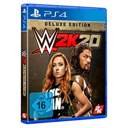 WWE 2K20 - Deluxe Edition [PS4, neu, DE]