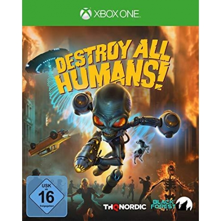 Destroy All Humans! Standard Edition [XBox one, neu, DE]