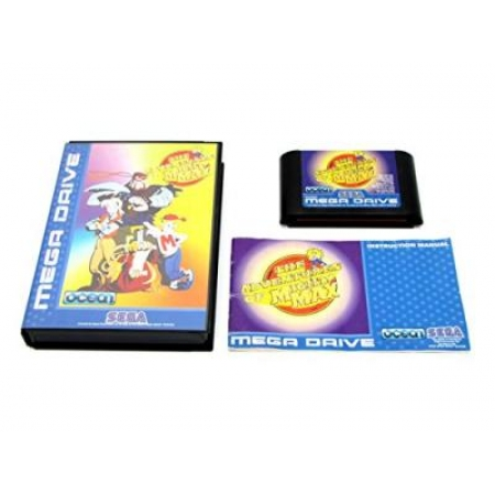 The Adventures of mighty Max - Ohne Anleitung [SMD, gebraucht, DE]