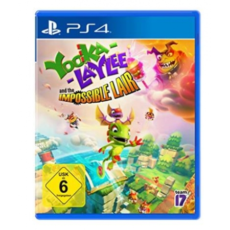 Yooka -Laylee and the Impossible Lair [PS4, neu, DE]