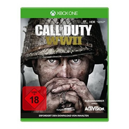 Call of Duty: WWII - Standard Edition - Ohne Cover und Anleitung [XBox one, gebraucht, DE]