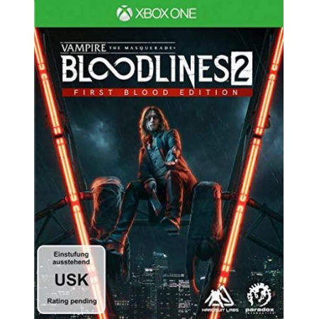 Vampire: The Masquerade Bloodlines 2 First Blood Edition [XBox one, neu, DE]