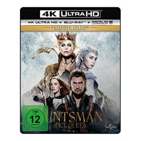 The Huntsman & The Ice Queen - Extended Edition  (4K Ultra HD) (+ Blu- [BluRay, gebraucht, DE]