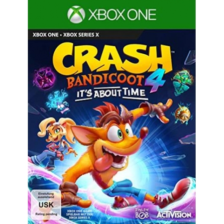 Crash Bandicoot 4 - It s About Time  [XBox one, neu, DE]