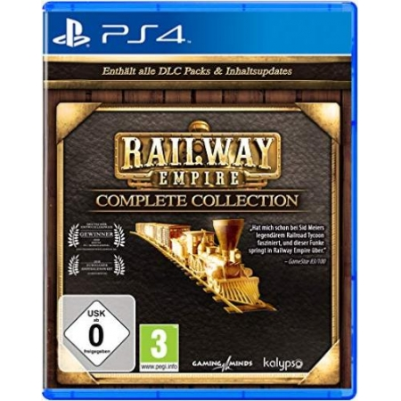 Railway Empire Complete Collection [PS4, neu, DE]