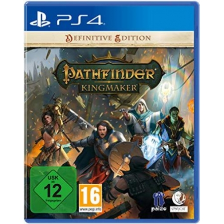 Pathfinder: Kingmaker Definitive Edition [PS4, neu, DE]