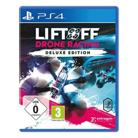 Liftoff: Drone Racing Deluxe Edition [PS4, neu, DE]
