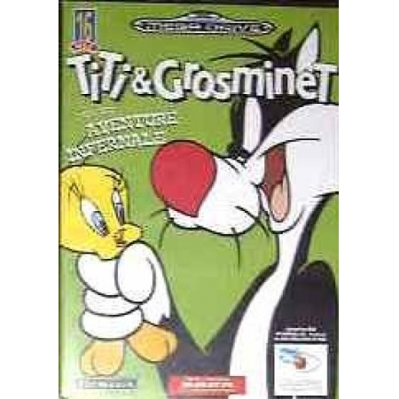 Sylvester & Tweety in Cagey Capers [SMD, gebraucht, DE]