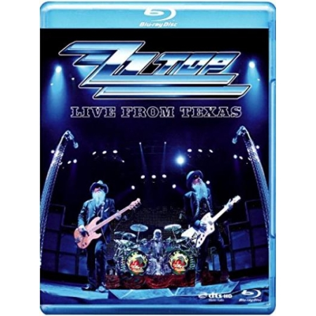 ZZ Top - Live From Texas [BluRay, gebraucht, DE]