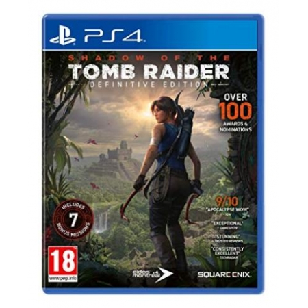 Shadow of the Tomb Raider: Definitive Edition [PS4, gebraucht, PEGI-UK]