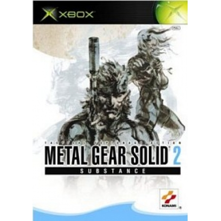 Metal Gear Solid 2 - Substance  [XBox, gebraucht, DE]