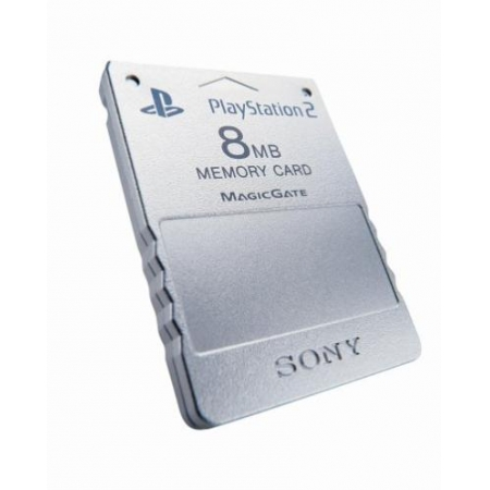 Sony Memory Card 8 MB - Silber (Hardware) [PS2, gebraucht, DE]
