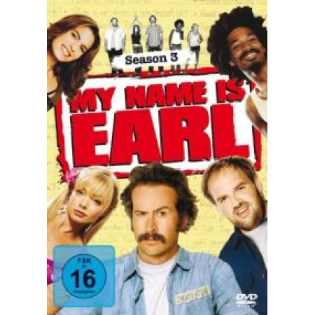 My Name Is Earl - Season 3 (4 Discs) [DVD, gebraucht, DE]