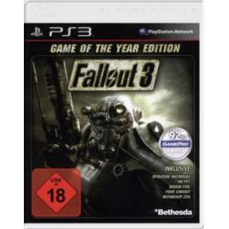 Fallout 3 - Game of the Year Edition (Software Pyramide) [PS3, gebraucht, DE]
