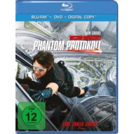 Mission: Impossible - Phantom Protokoll [BluRay, gebraucht, DE]