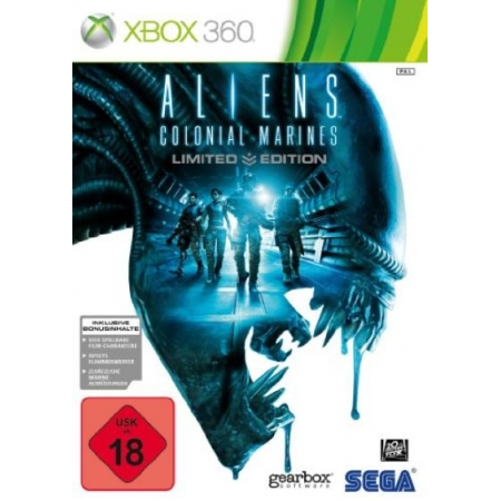Aliens: Colonial Marines - Limited Edition [XB360, gebraucht, DE]