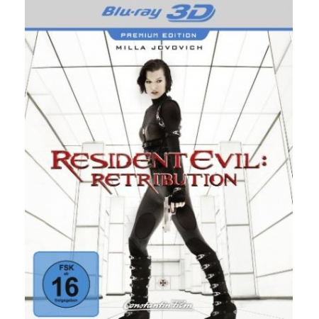 Resident Evil: Retribution (Premium Edition) [BluRay, gebraucht, DE]