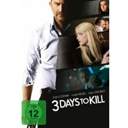 3 Days to Kill [DVD, gebraucht, DE]