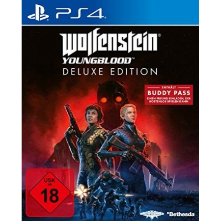 Wolfenstein Youngblood - Deluxe Edition [PS4, neu, PEGI-AT]
