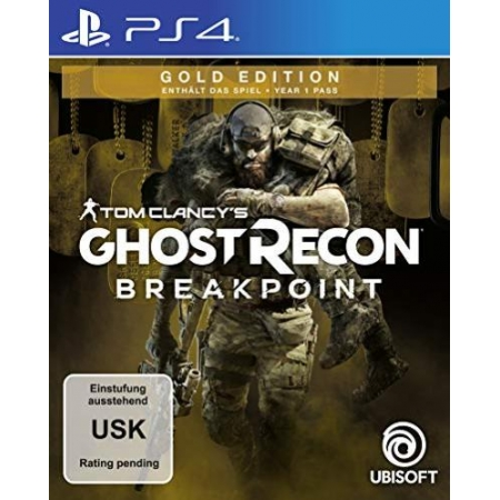 Tom Clancys Ghost Recon Breakpoint - Gold Edition [PS4, neu, DE]