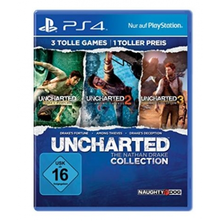 Uncharted: The Nathan Drake Collection [PS4, neu, DE]