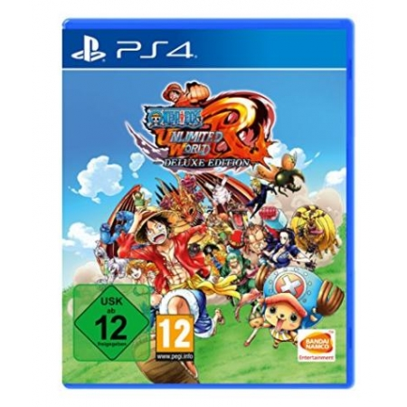One Piece Unlimited World Red - Deluxe Edition [PS4, neu, DE]