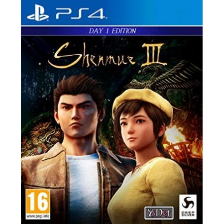 Shenmue III - Day One Edition [PS4, gebraucht, PEGI-AT]