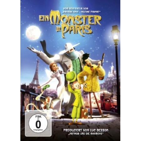 Ein Monster in Paris [DVD, gebraucht, DE]