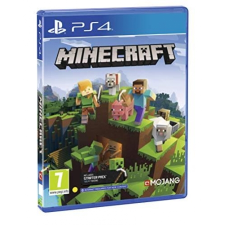 Minecraft Bedrock Edition (Deutsche Sprache)  [PS4, neu, PEGI-UK]