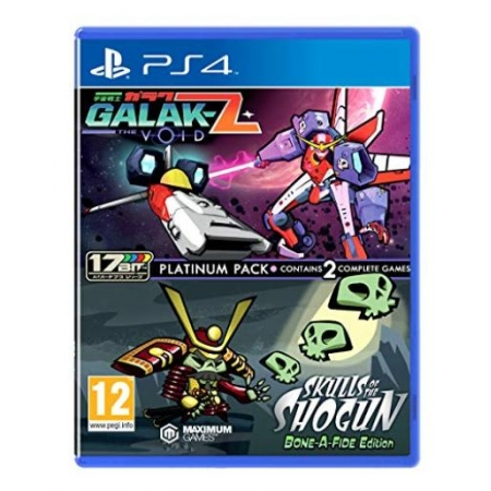 Galak-Z The Void - Skulls of the Shogun Platinum Pack [PS4, neu, DE]