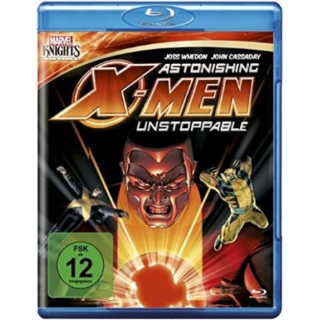Astonishing X-Men: Unstoppable [BluRay, gebraucht, DE]