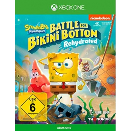 Spongebob SquarePants: Battle for Bikini Bottom - Rehydrated - Standar [XBox one, neu, DE]