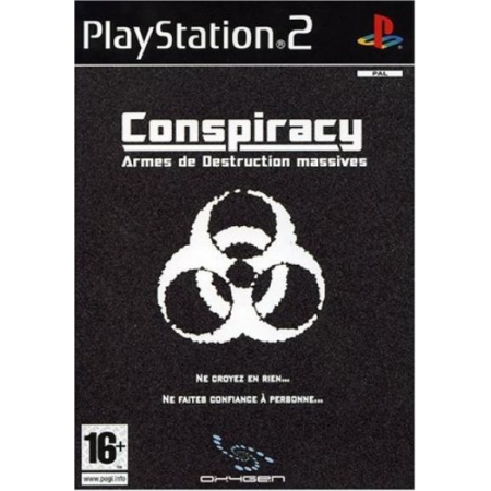 Conspiracy . Weapons of Mass Destruction - Ohne Anleitung [PS2, gebraucht, PEGI-FR]