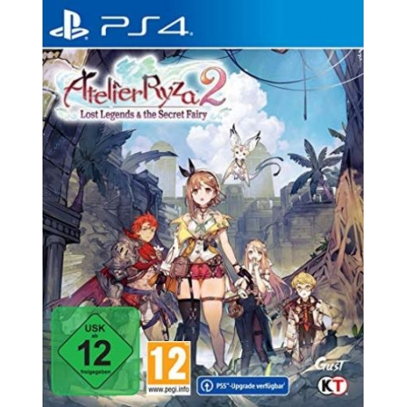Atelier Ryza 2: Lost Legends & the Secret Fairy [PS4, neu, DE]
