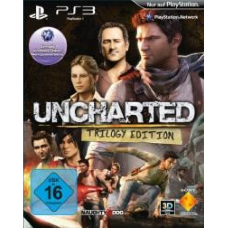 Uncharted Trilogy Edition [PS3, gebraucht, DE]