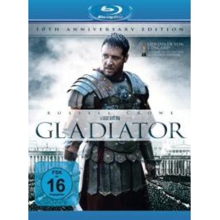 Gladiator (10th Anniversary Edition) [BluRay, gebraucht, DE]