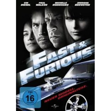 Fast and Furious - Neues Modell. Originalteile. [DVD, gebraucht, DE]
