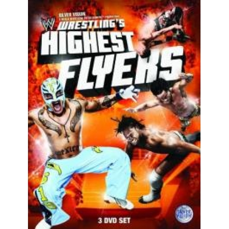 WWE - Wrestlings Highest Flyers (3 DVDs) [DVD, gebraucht, DE]