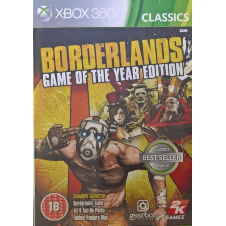 Borderlands - Game of the Year (Classic) [XB360, gebraucht, PEGI]