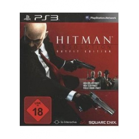 Hitman Absolution - Outfit Edition (Ohne Bonuscodes) [PS3, gebraucht, DE]