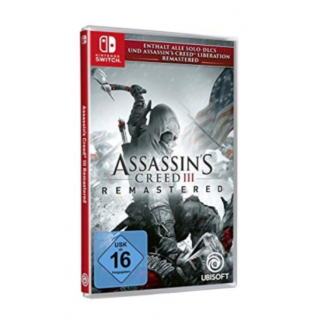 Assassin s Creed III Remastered [NSW, neu, DE]