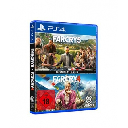 Far Cry 4 + Far Cry 5 (Double Pack) [PS4, neu, PEGI-AT]