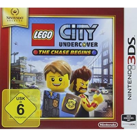 Lego City Undercover: The Chase Begins [N3DS, gebraucht, DE]