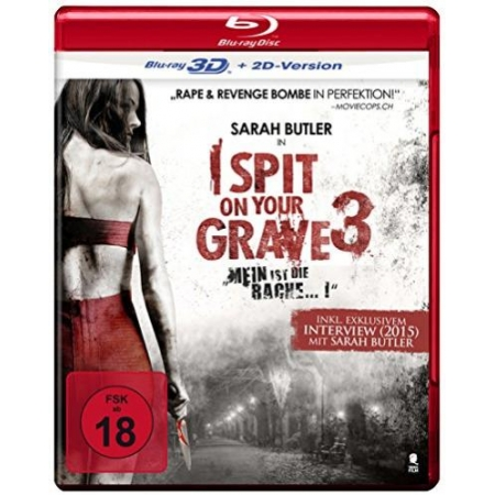 I Spit On Your Grave 3 - Mein ist die Rache (3D Blu-ray + 2D Version) [BluRay, gebraucht, DE]