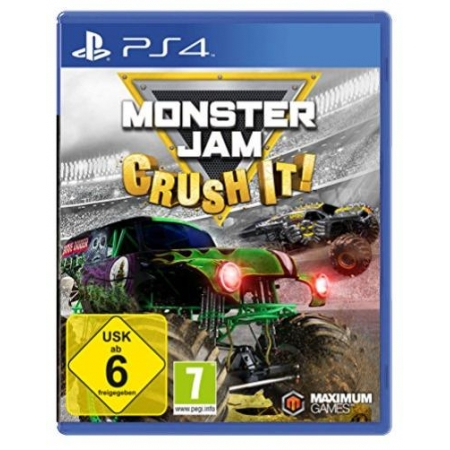Monster Jam - Crush it! [PS4, gebraucht, DE]