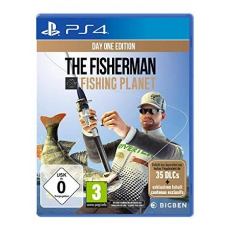 The Fisherman - Fishing Planet (Day One Edition) [PS4, neu, DE]