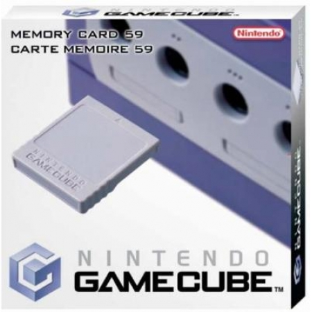 Nintendo Gamecube Memory Card  59 Blocks