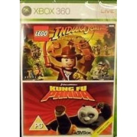 Kung Fu Panda + Lego Indiana Jones